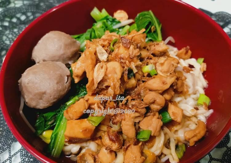 Mie Ayam Homemade
