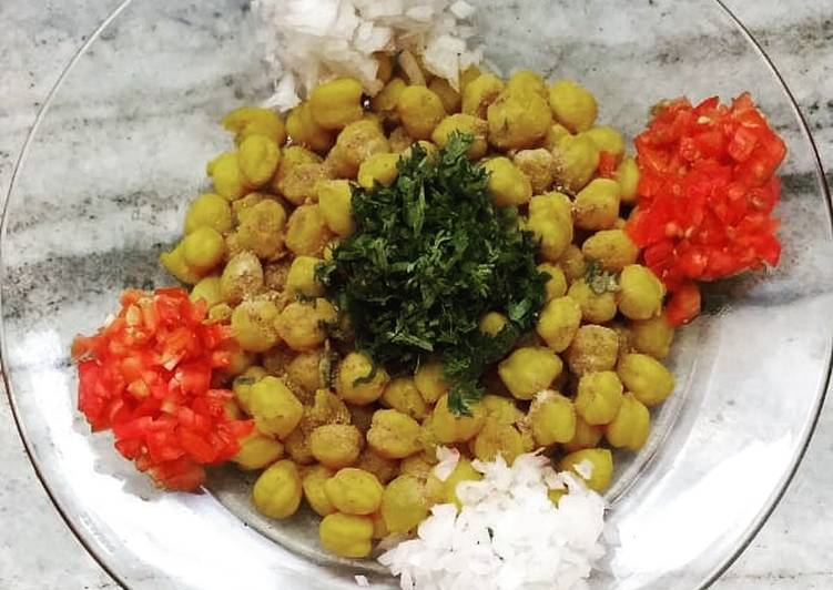 Simple Way to Make Homemade Chana chaat