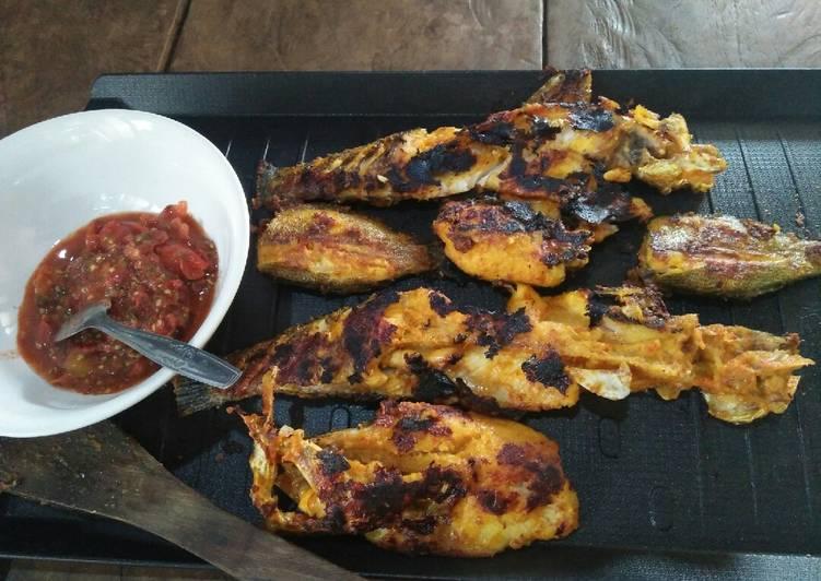 Ikan bakar ruan mantap sambel cung#resep pertama ku#