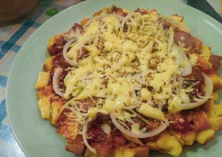 Langkah Mudah untuk Menyiapkan Pizza Sarden Ekonomis, Sempurna