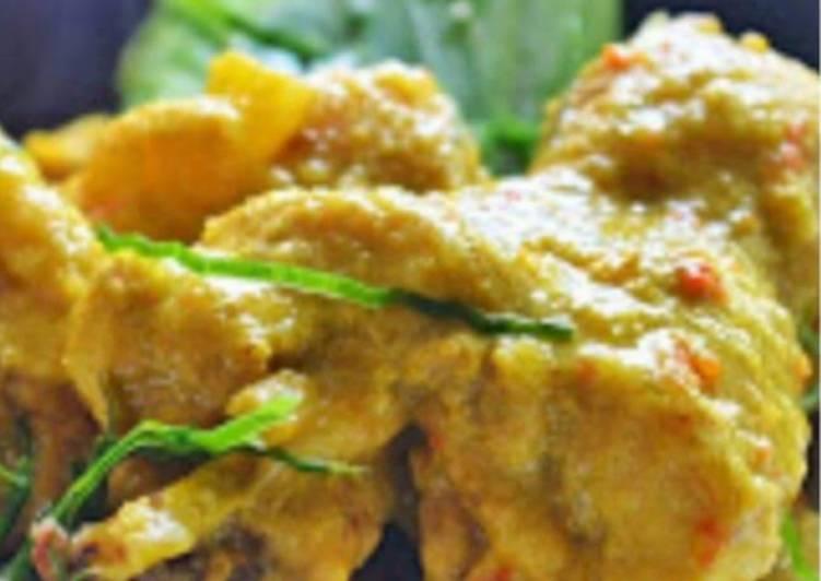 Steps to Make Super Quick Homemade Bird's eye pepper chicken (ayam masak chili api)