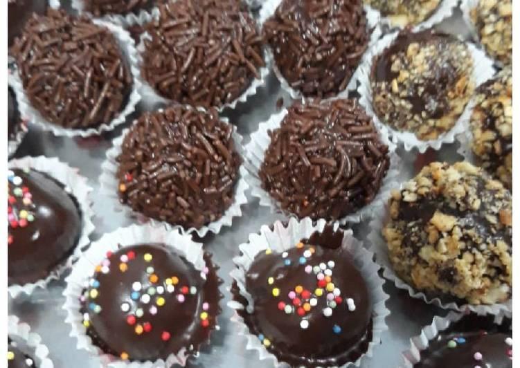 Choco ball brownies.