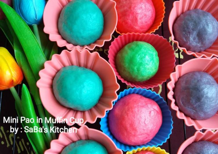 Resep 08. Mini Pao in Muffin Cup Terbaik