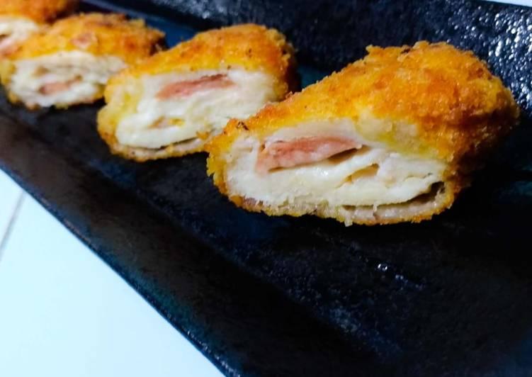 Chicken Cordon Bleu (Ayam nya saja)