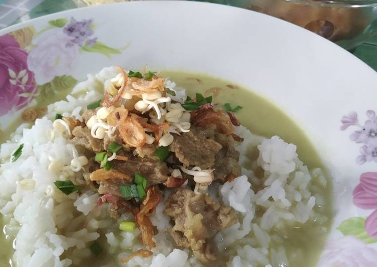 Soto Daging Kuah Santan Light
