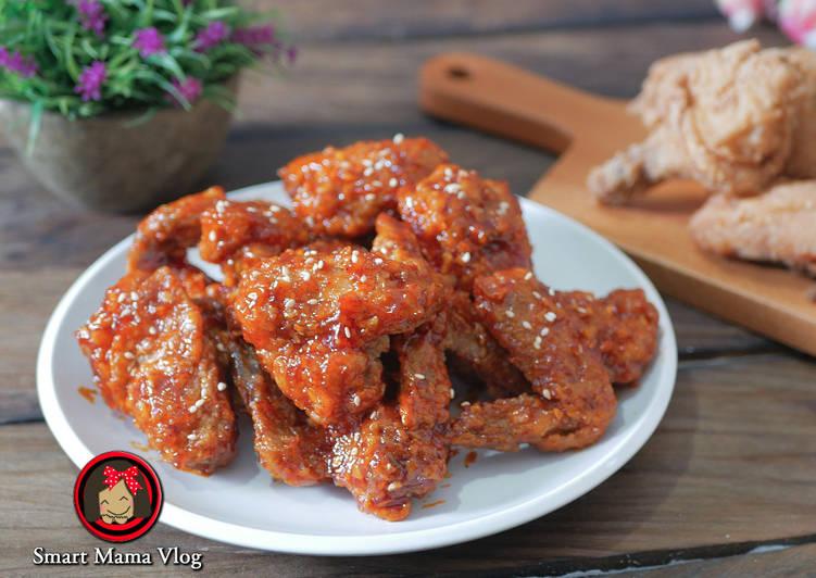 Ayam goreng korea/ayam goreng pedas korea/ayam gochujang