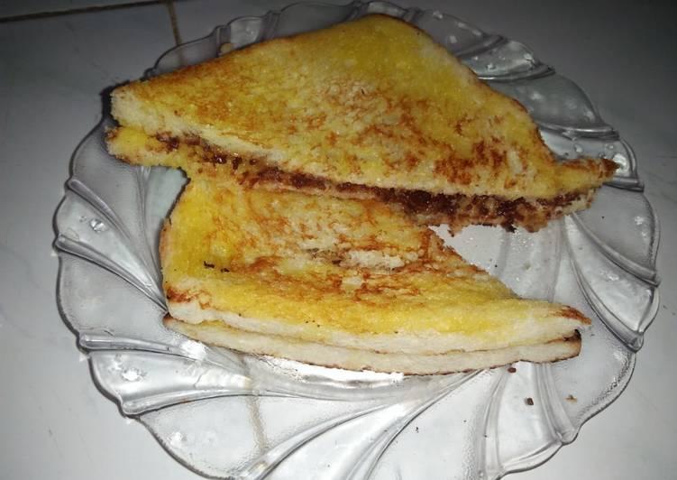 Roti Tawar Panggang Teflon