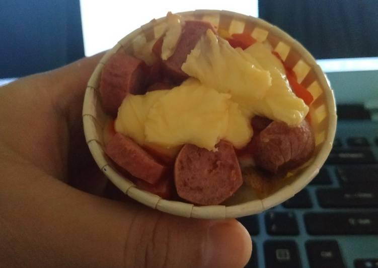 Mini Pizza Roti guna Air Fryer - resepipouler.com