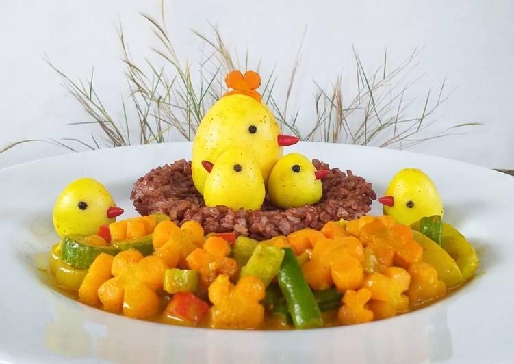Telur Acar Kuning - cookandrecipe.com