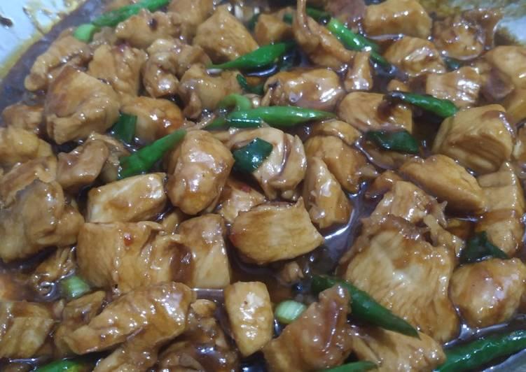 Resep Masak Ayam Fillet Teriyaki Resep Masakan Indonesia