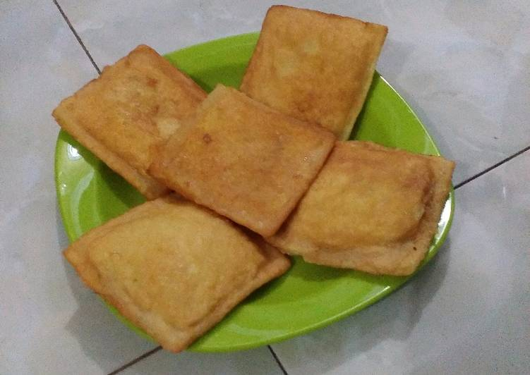 Roti bantal goreng