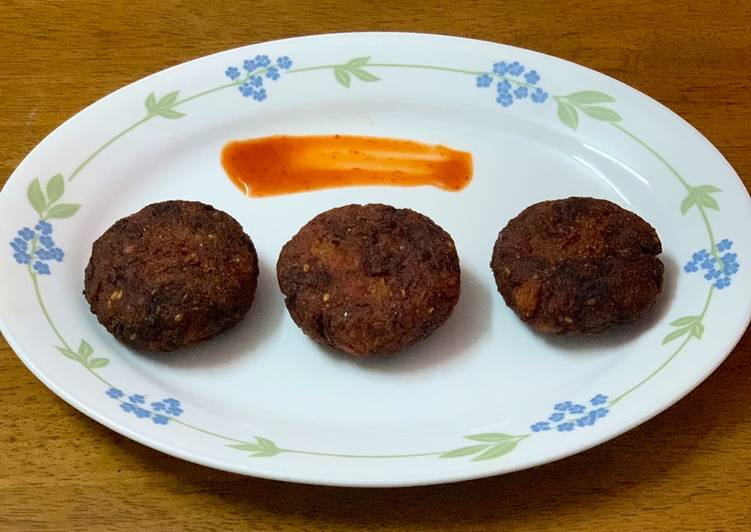 10 Minute Simple Way to Make Spring Poha cutlet