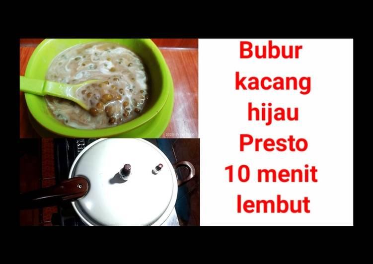 Bubur kacang hijau presto lembut banget recomended