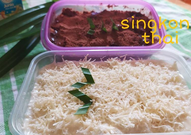 Singkong thai keju milo - cookandrecipe.com