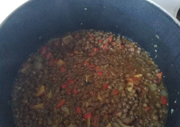 Recipe: Appetizing Nana's Lentil Soup