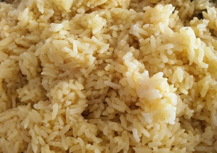 Nasi kuning ala Dapoernyamimi