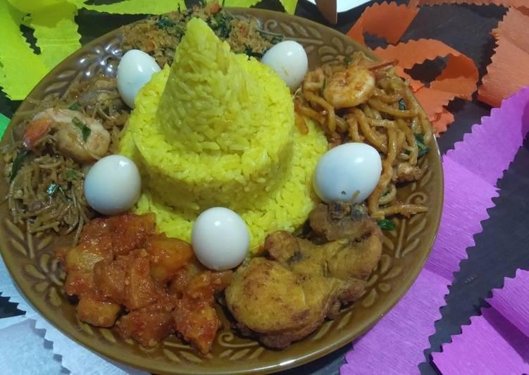 Nasi kuning punel