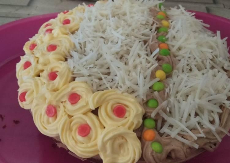 Resep Kue tart kukus sederhana Terbaik