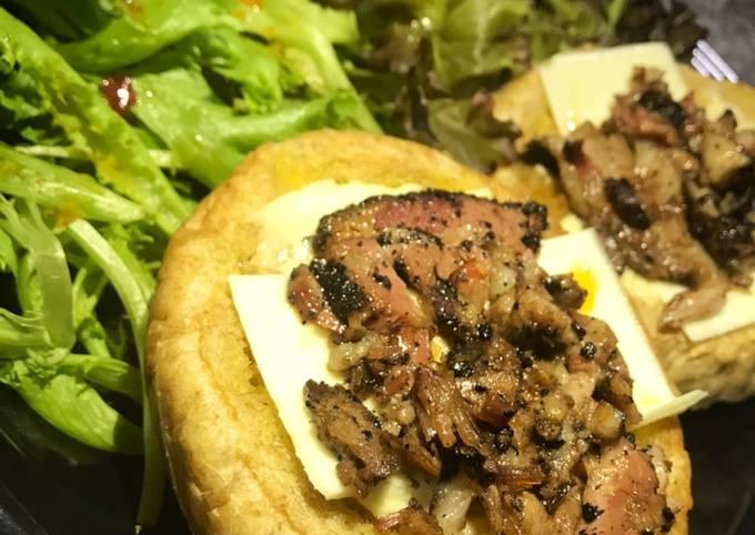 Burger Brisket Lebaran 🙏🤗