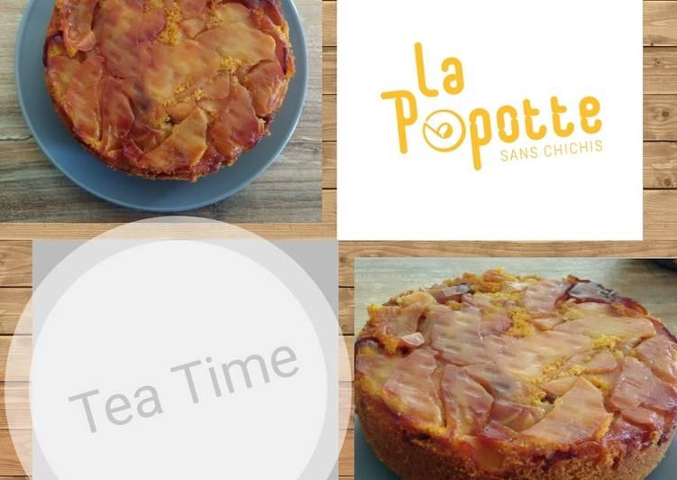 Recette Des Gâteau renversé aux pommes caramélisées