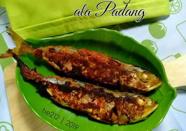 Ikan Kembung Bakar ala Padang