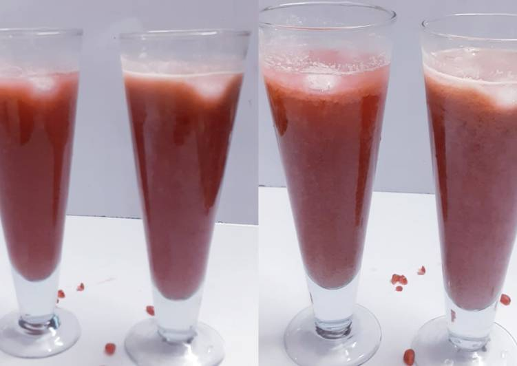 Recipe of Award-winning Apple pomegranate juice