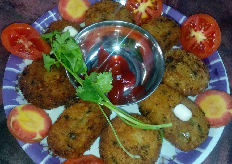 Baby rice cutlet - Laurie G Edwards