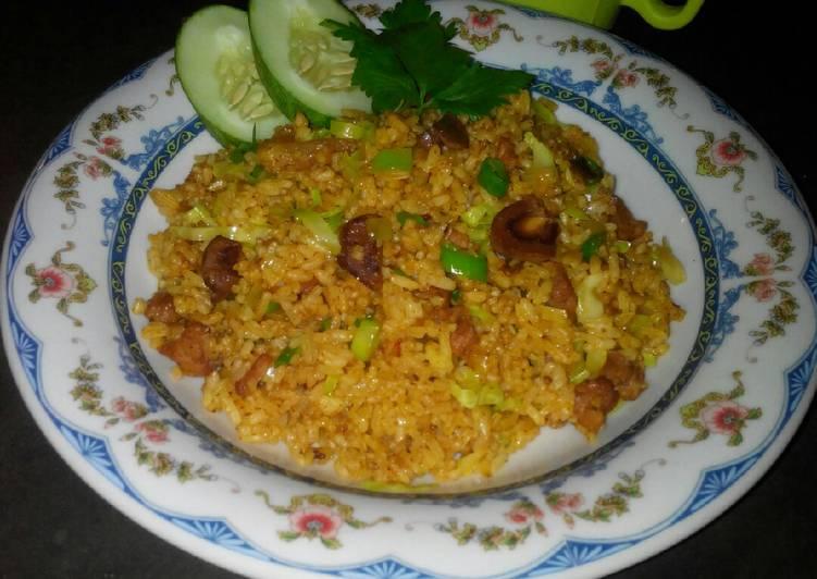 Nasi Goreng Kari Kambing #SelasaBisa