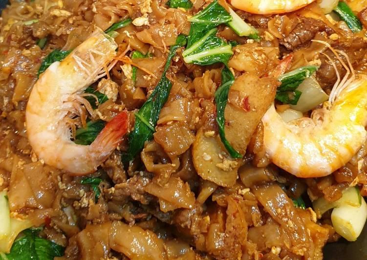 Resepi:  Kue Teow Goreng  Lazat