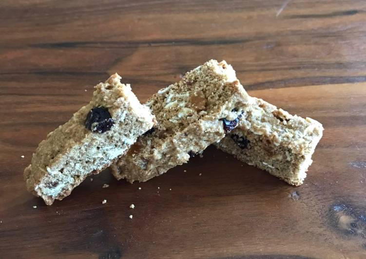 How to Cook Yummy Whole Wheat Apricot Cranberry Biscotti