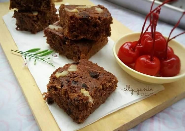 Resep Bananas Chocholates Brownies Donas Delight Brownies Gluten Fre Oleh Etty Yunie Cookpad