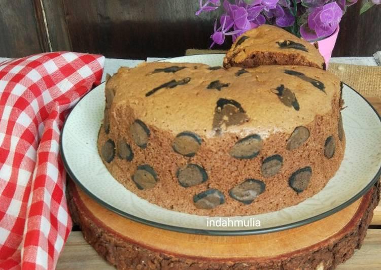 Leopard Cotton sponge cake