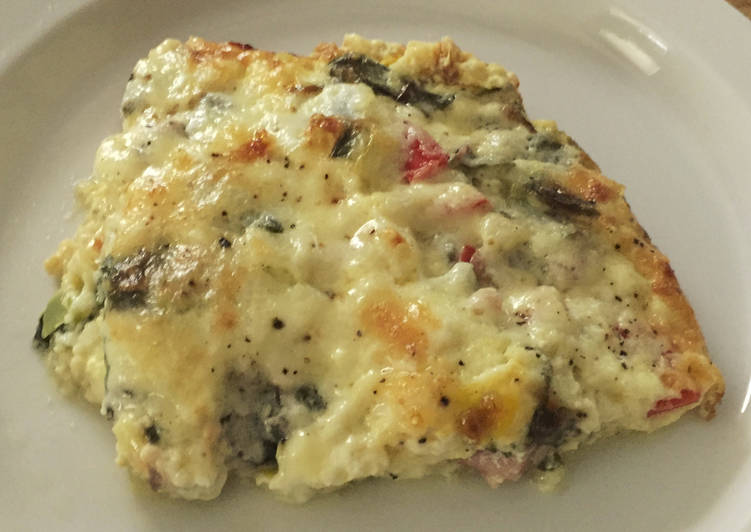 Simple Way to Make Quick Crustless Quiche FUSF