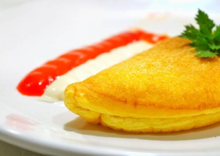 Fluffy Omelette || Lembut banget