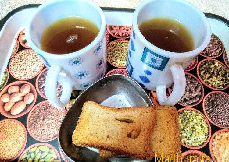 Recipe: Appetizing Moringa green Tea