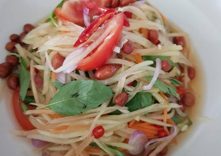 Salad Pepaya Muda