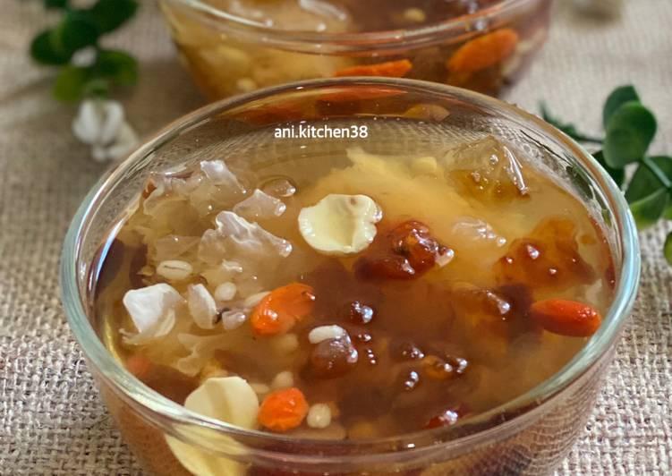 6 Resep: Peach gum dessert/cheng teng Anti Ribet!