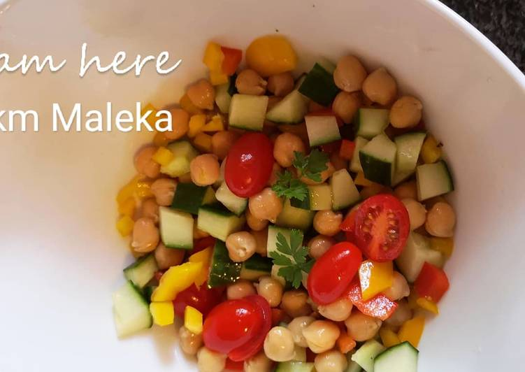 Recipe of Perfect Chickpeas salad