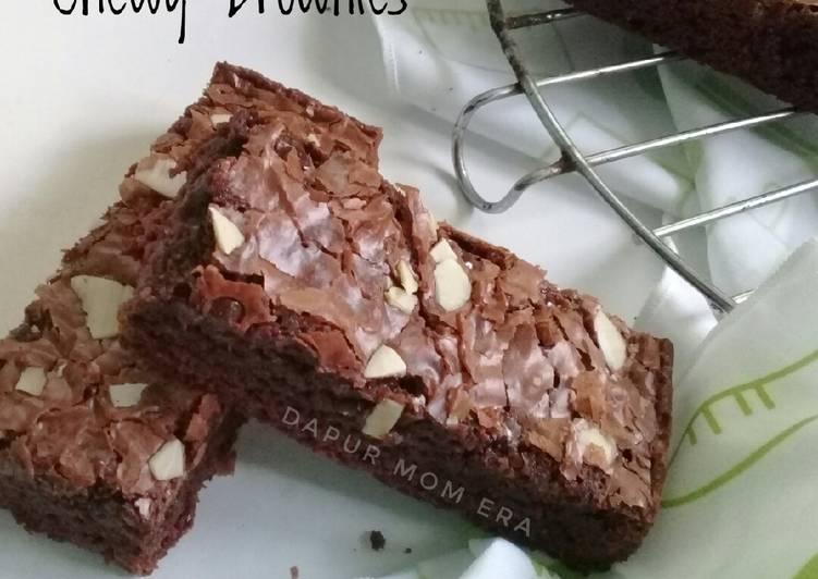 Chewy Brownies ala Erlina Lim