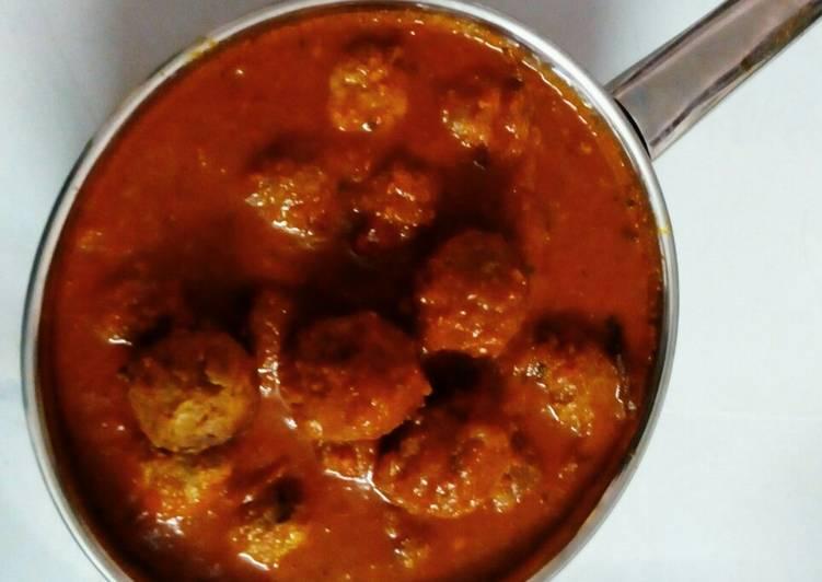 Tuesday Fresh Kathal kofta curry