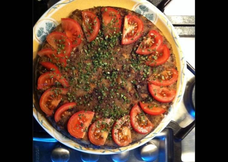 La Meilleur Recette De Gâteau de poisson aux champignons et tomates
