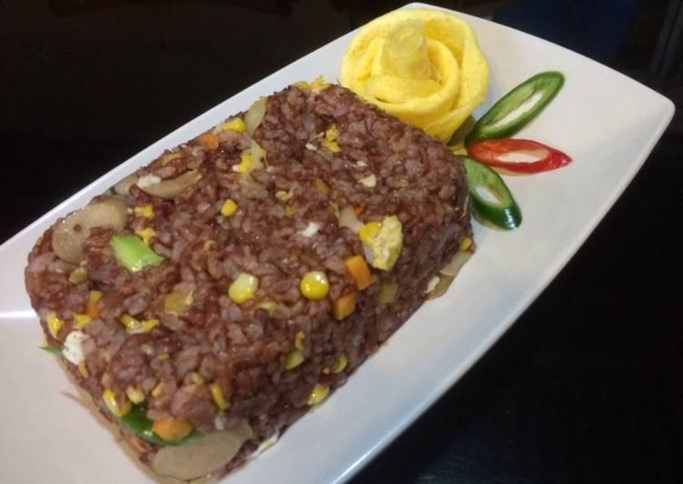 Resep Nasi Goreng Beras Merah Paling dicari