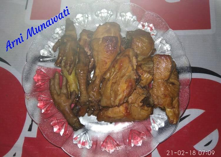 Ayam bacem uenakkk