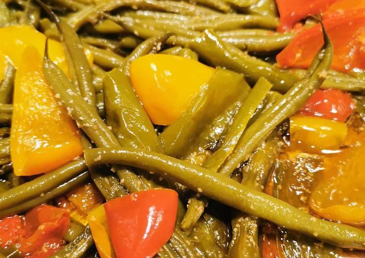 How to Prepare Perfect Poêlée haricots verts et poivrons