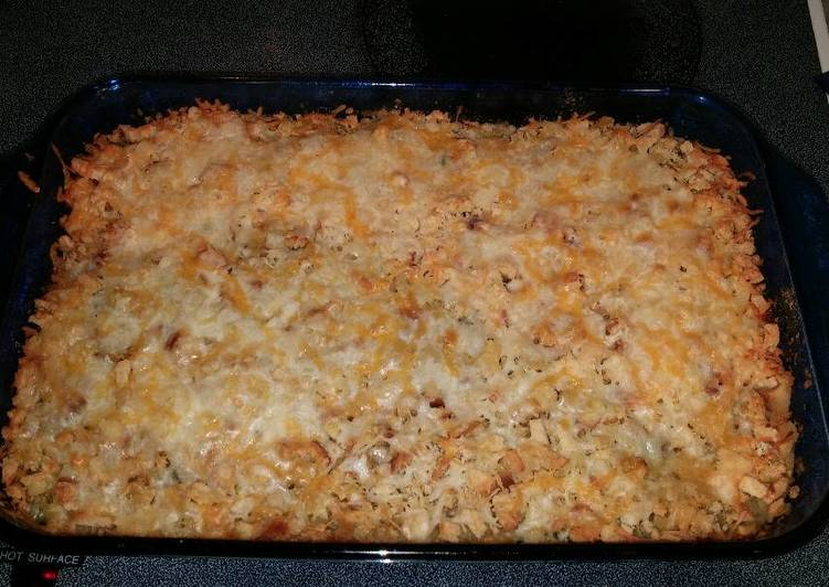 Recipe of Super Quick Homemade Beef & Broccoli Stuffing Casserole