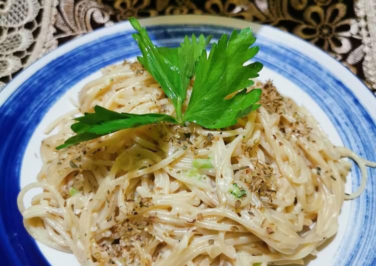 Spaghetti Carbonara Dadakan