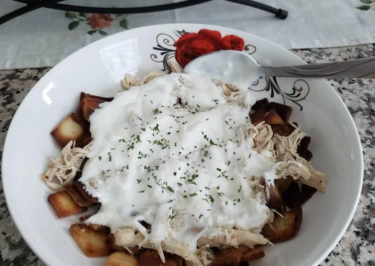 Chicken fatteh 🐔
