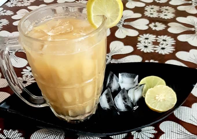 Sattu lemonade