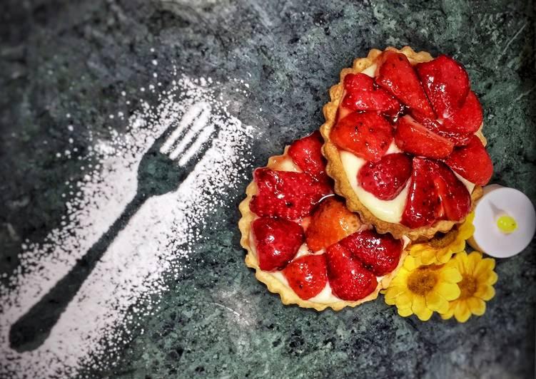 La Meilleur Recette De Tarte au fraise 🍓