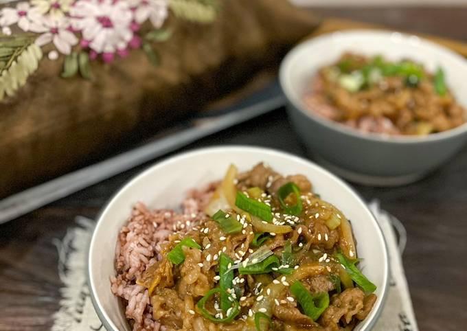 Yoshinoya beef bowl ala ala